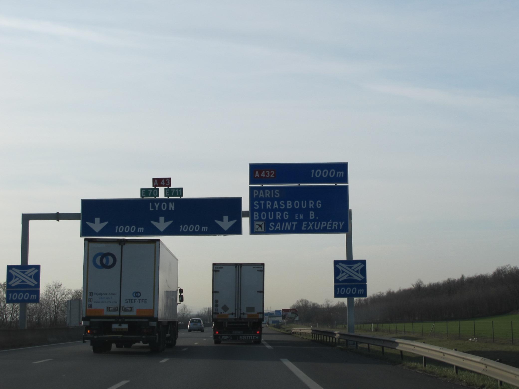 A432 autoroute #