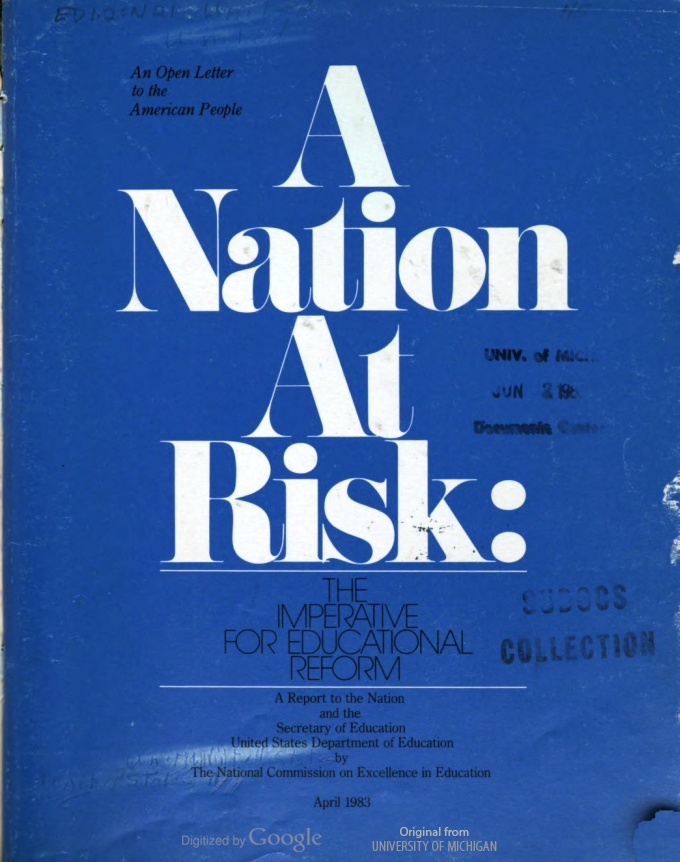 A Nation at Risk - Wikipedia, the free encyclopedia