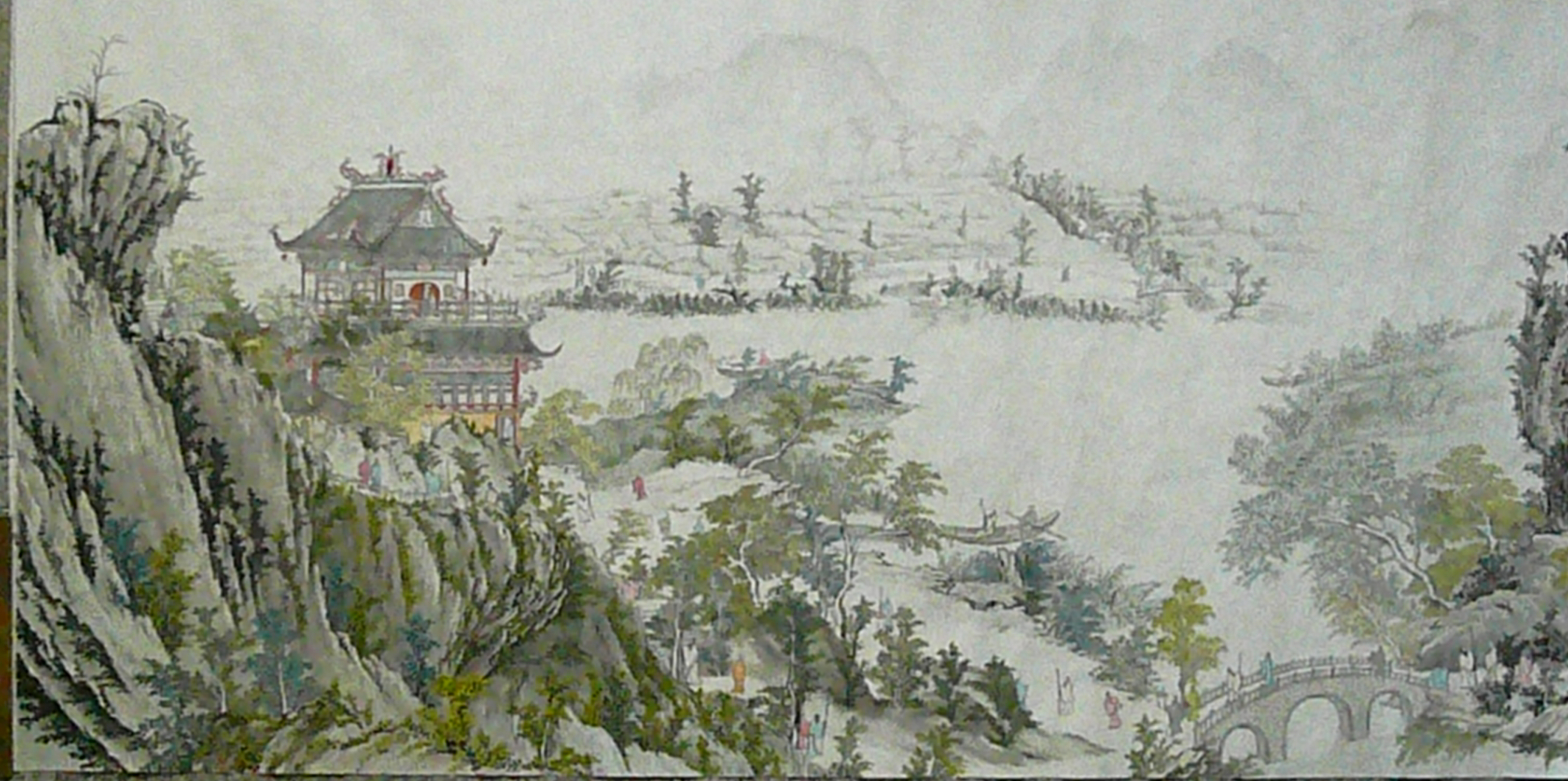 A Part Of Giant Traditional Chinese PaintingJPG