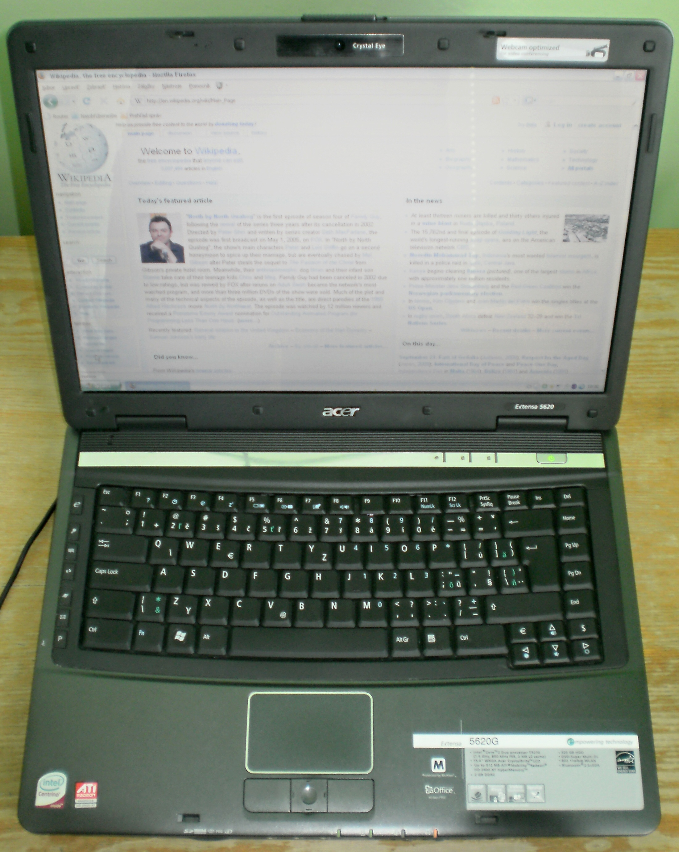 ACER EXTENSA 5620G TOUCHPAD DRIVER FOR PC