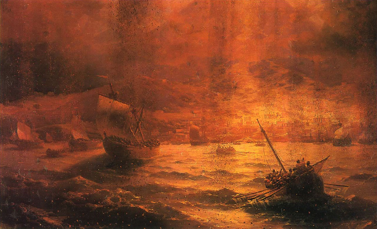 Original file ‎ (1,300 × 790 pixels, file size: 268 KB, MIME type ...: commons.wikimedia.org/wiki/File:Aivazovsky_-_Destruction_of_Pompeii...