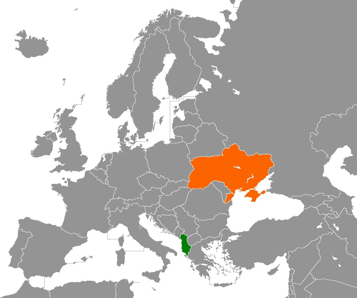 Albanien Ukraine