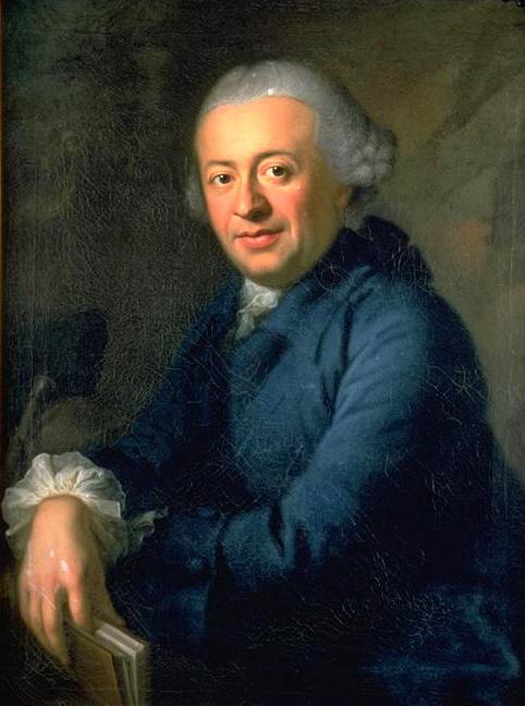 Portrait by [[Anton Graff]] (1765/66)