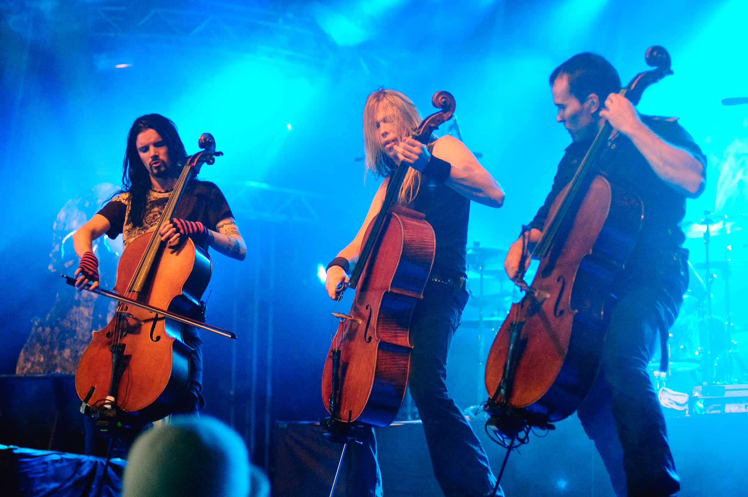 APOCALYPTICA - one of many supremely talented metal bands on strings