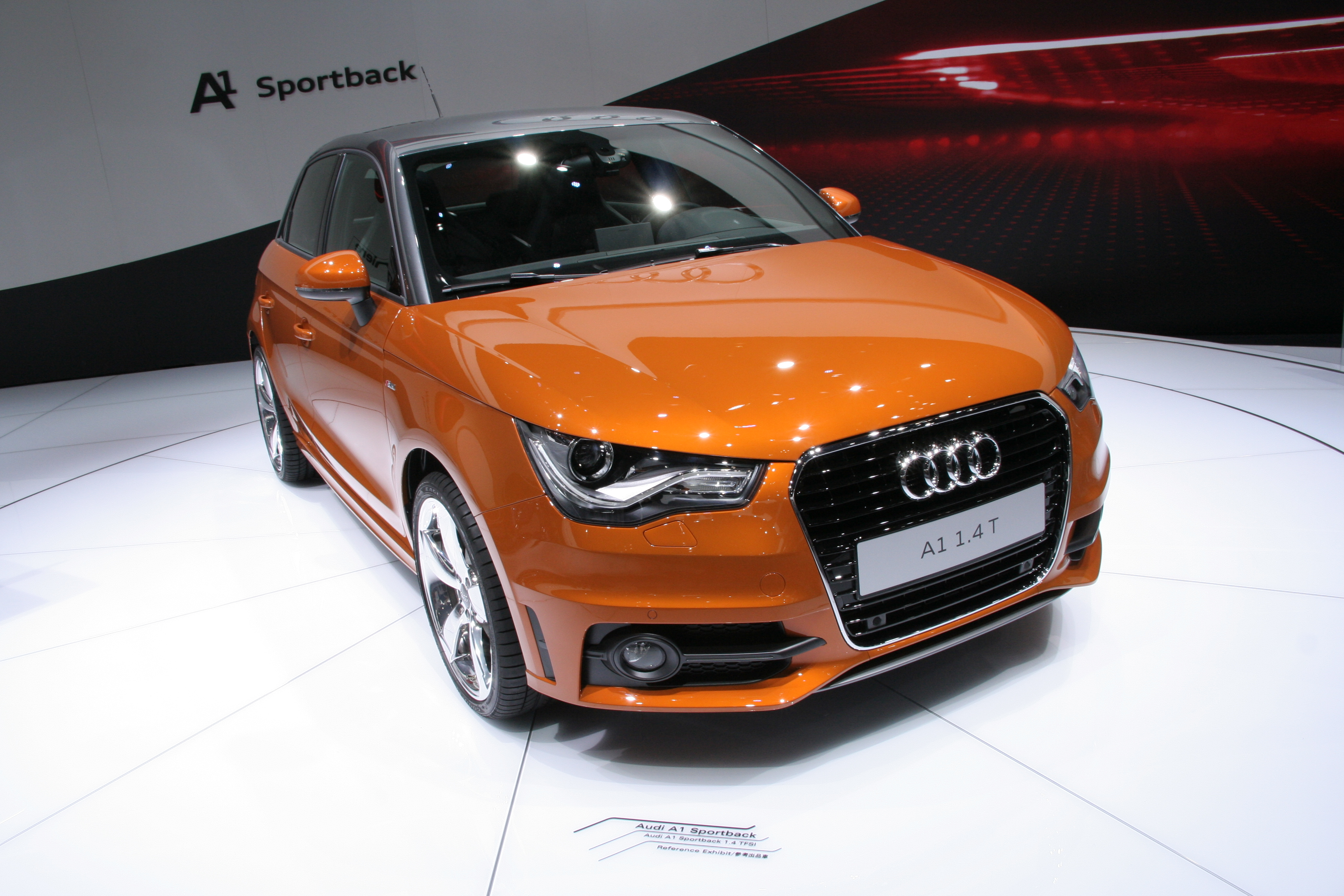 File Audi A1 1 4t Sportback Front Jpg Wikimedia Commons
