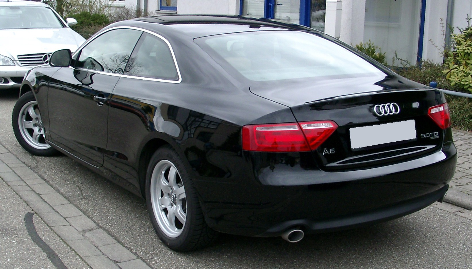 File Audi A5 Rear 20080414 Jpg Wikimedia Commons