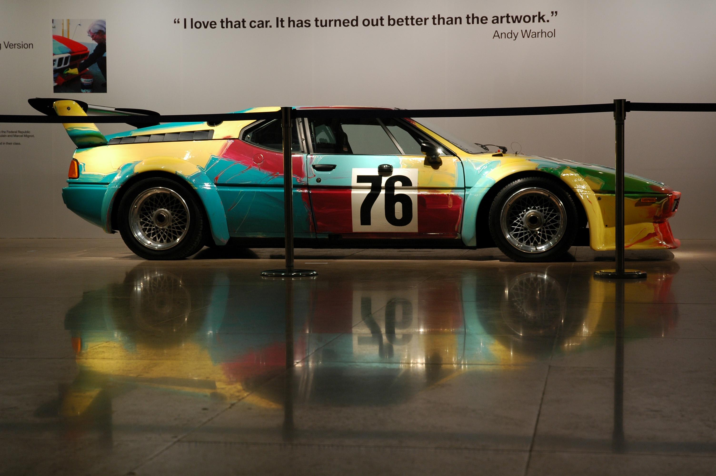 File:BMW M1 Art Car.jpg - Wikimedia Commons