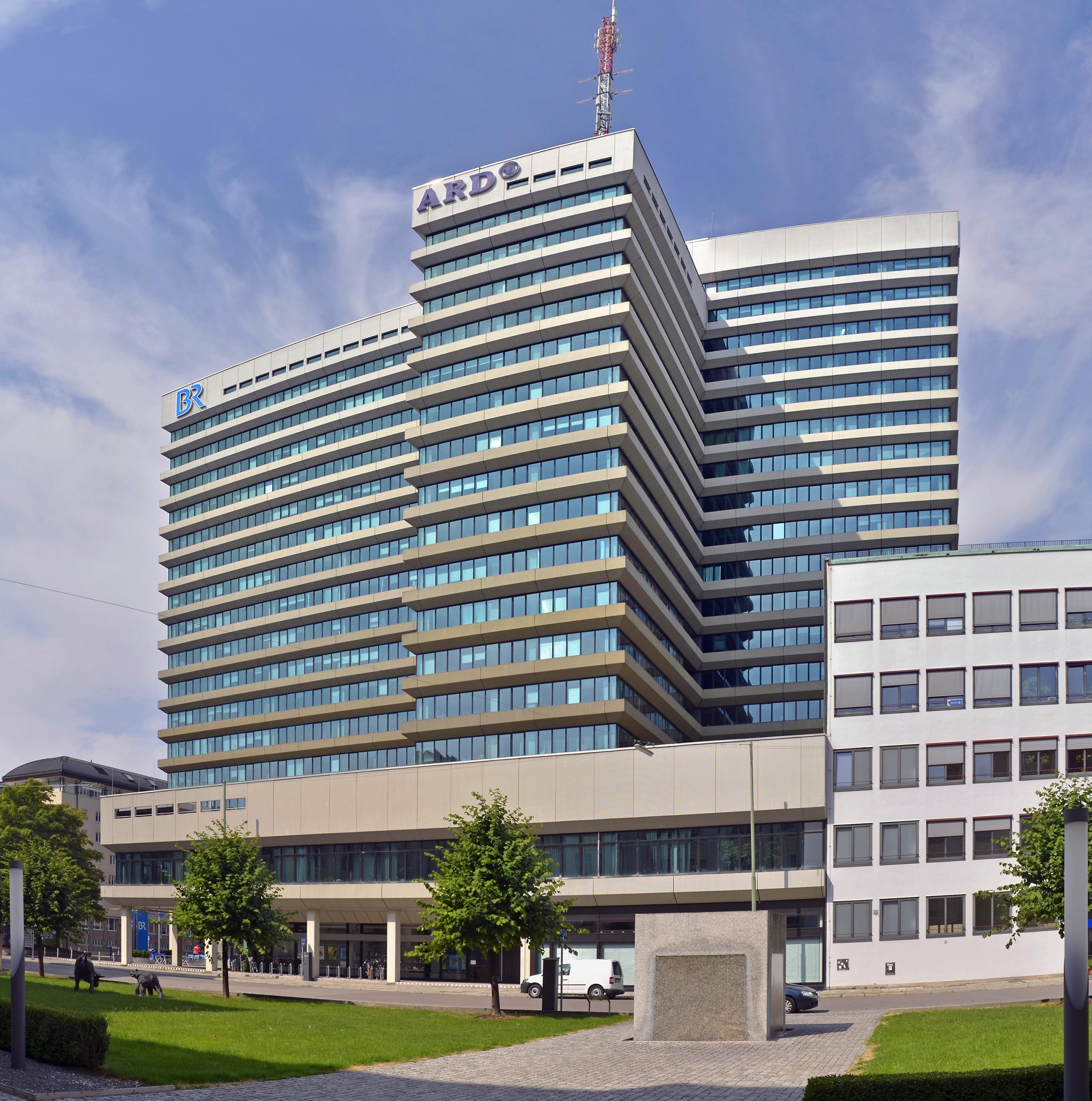 BR's headquarters in Munich