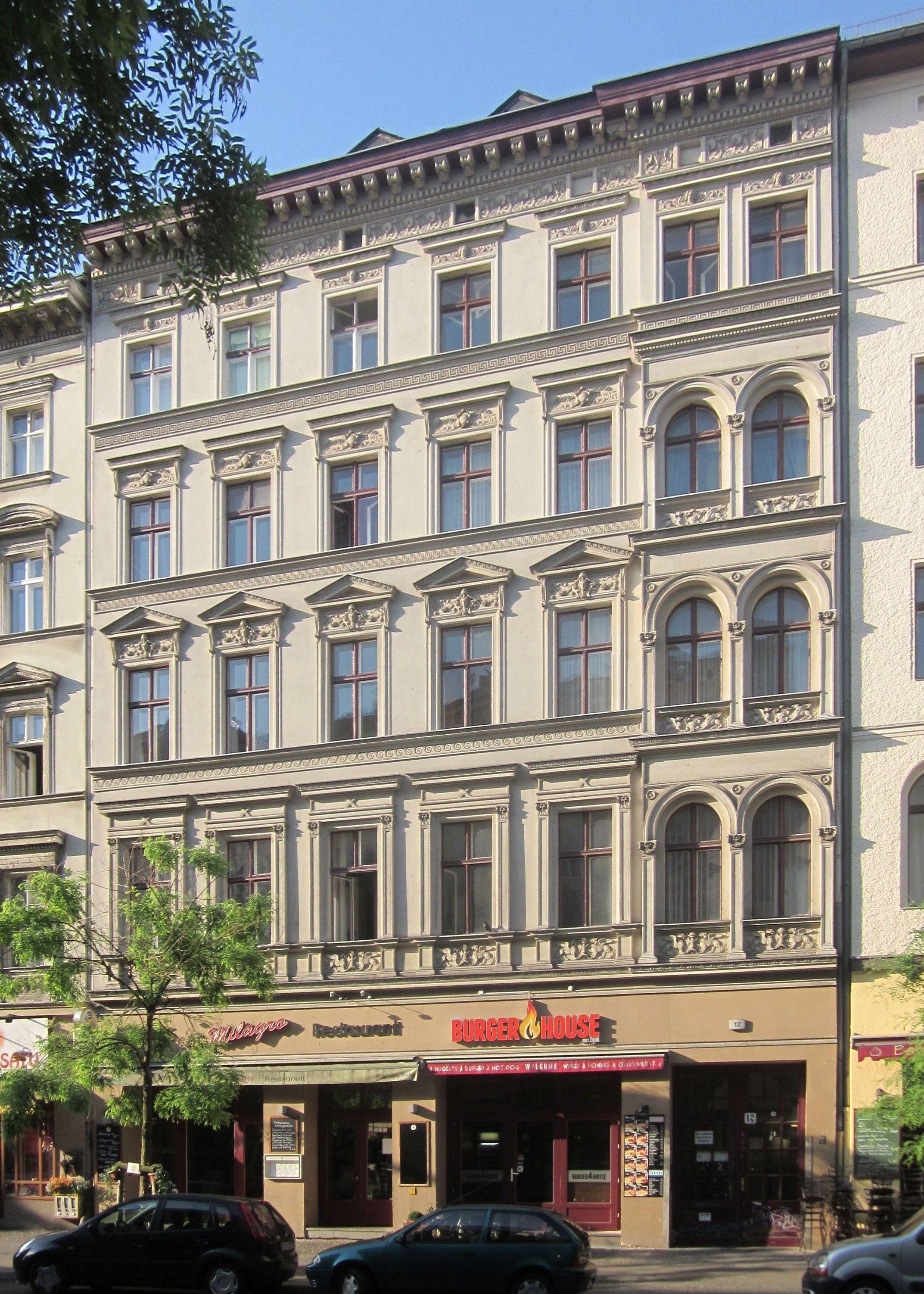 file berlin kreuzberg bergmannstrasse 12 wikimedia commons. Black Bedroom Furniture Sets. Home Design Ideas