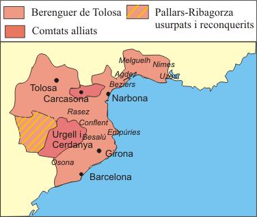Depiction of Berenguer de Tolosa
