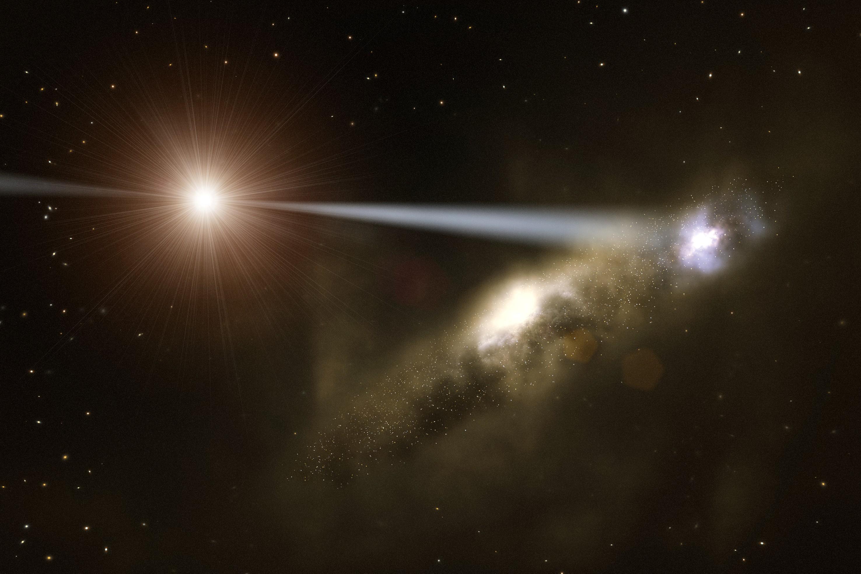 star galaxy black hole - photo #12