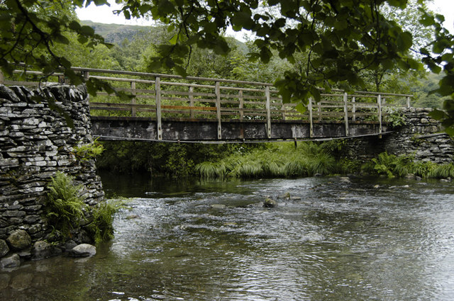Bridge over the River Brathay - geograph.org.uk - 889190