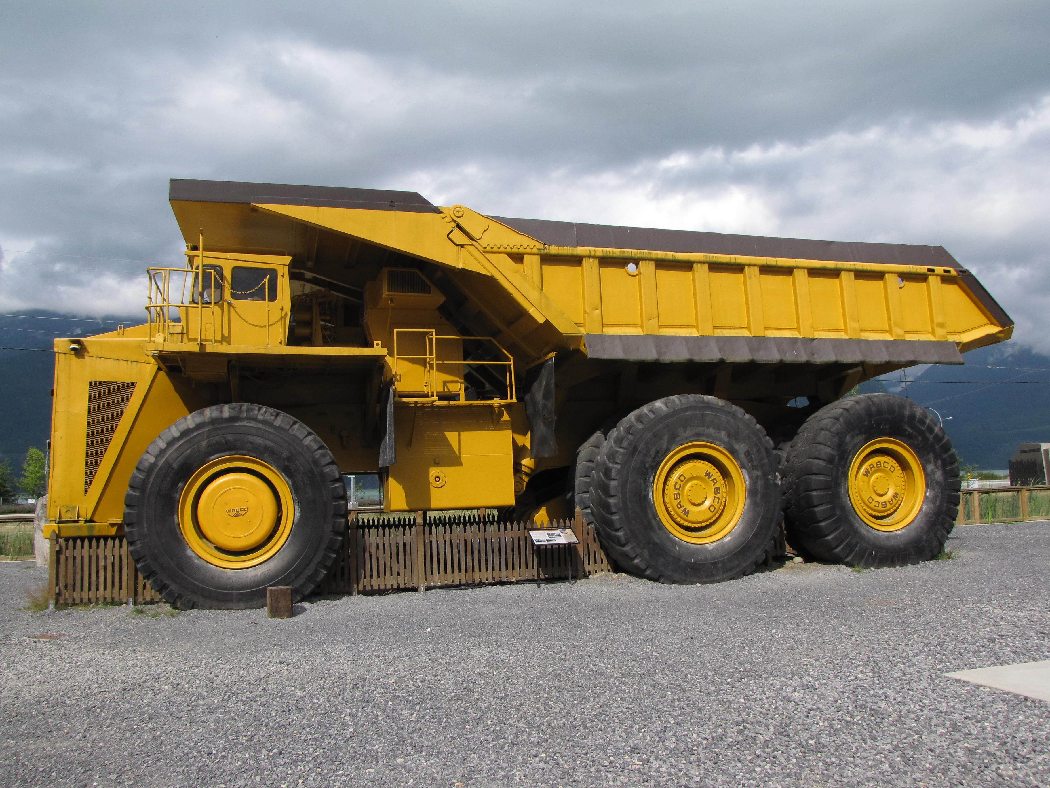 global mining truck market