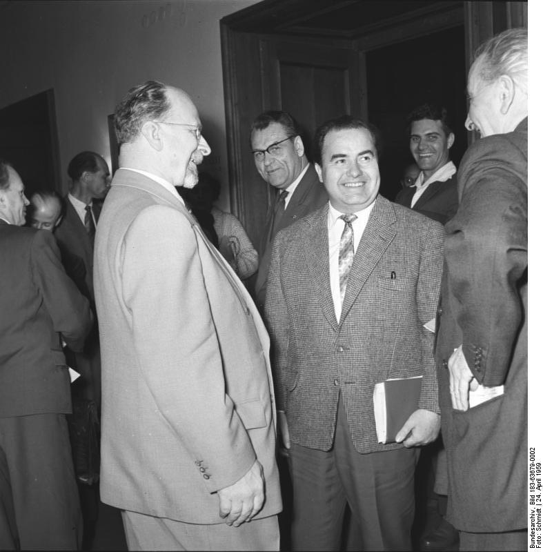 Heinz Quermann Größe