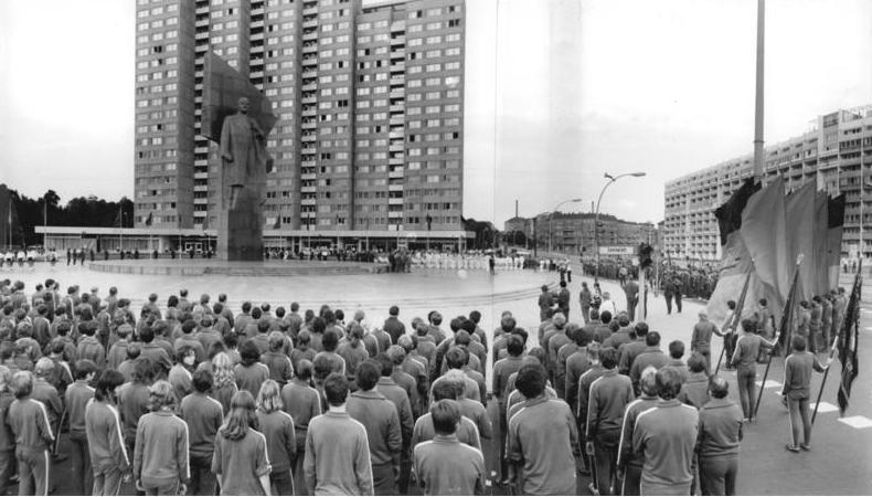 Denkmal Berlin Berlin Lenin-denkmal am