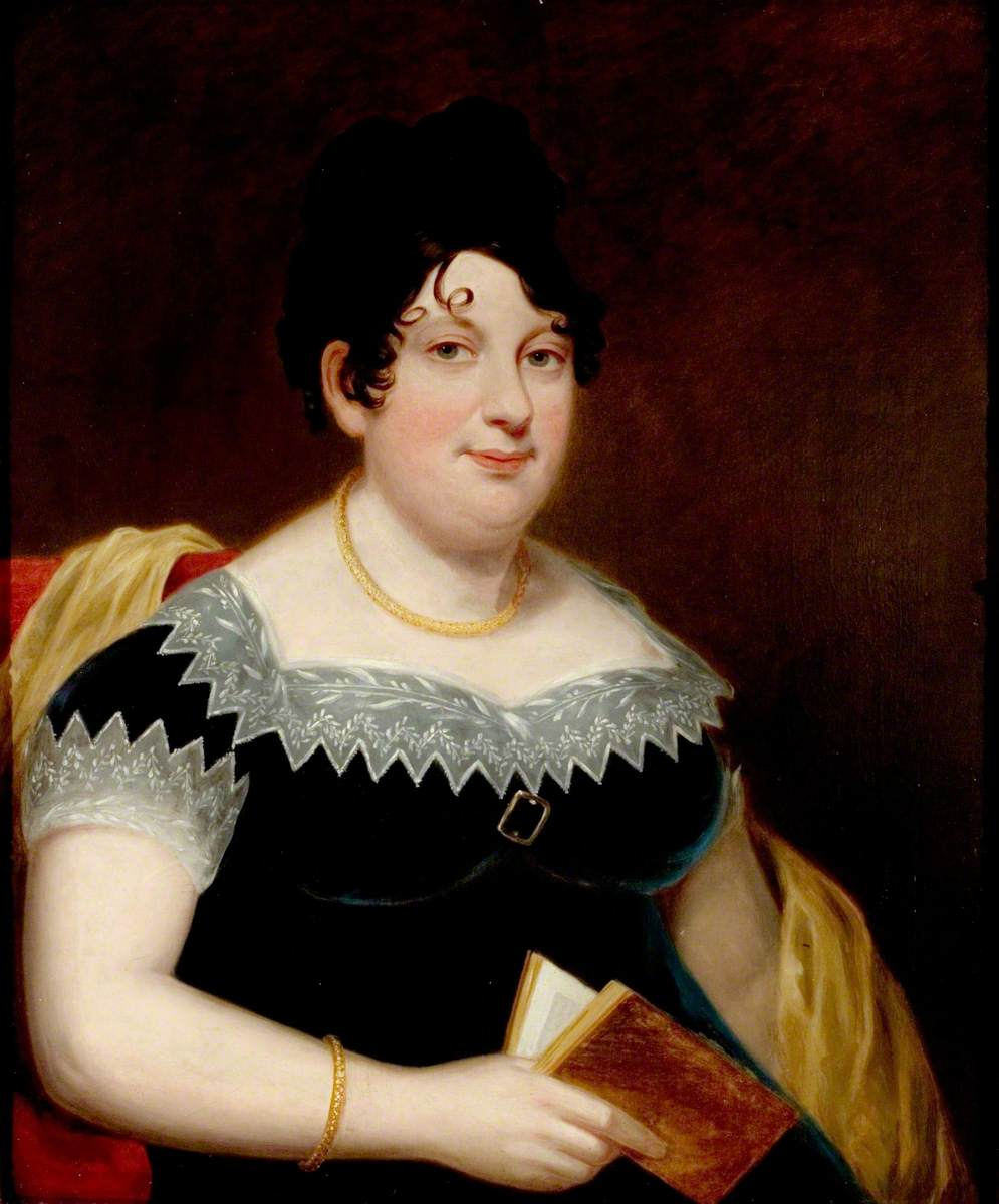 Catherine Gordon, Byron's mother, by Thomas Stewardson Byronmother.jpg
