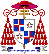 Wappen von Kardinal Trochta