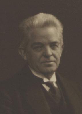 Photograph of Carl Nielsen, the Danish compose...