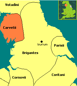 Territorio de los Carvetii