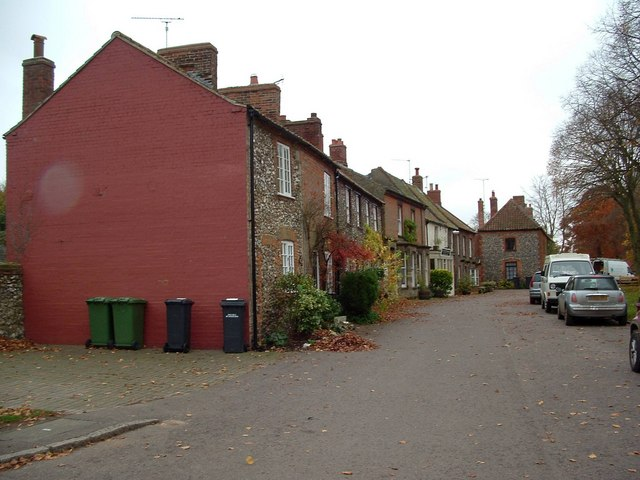 File:Castle Acre main street - geograph.org.uk - 1049110.jpg