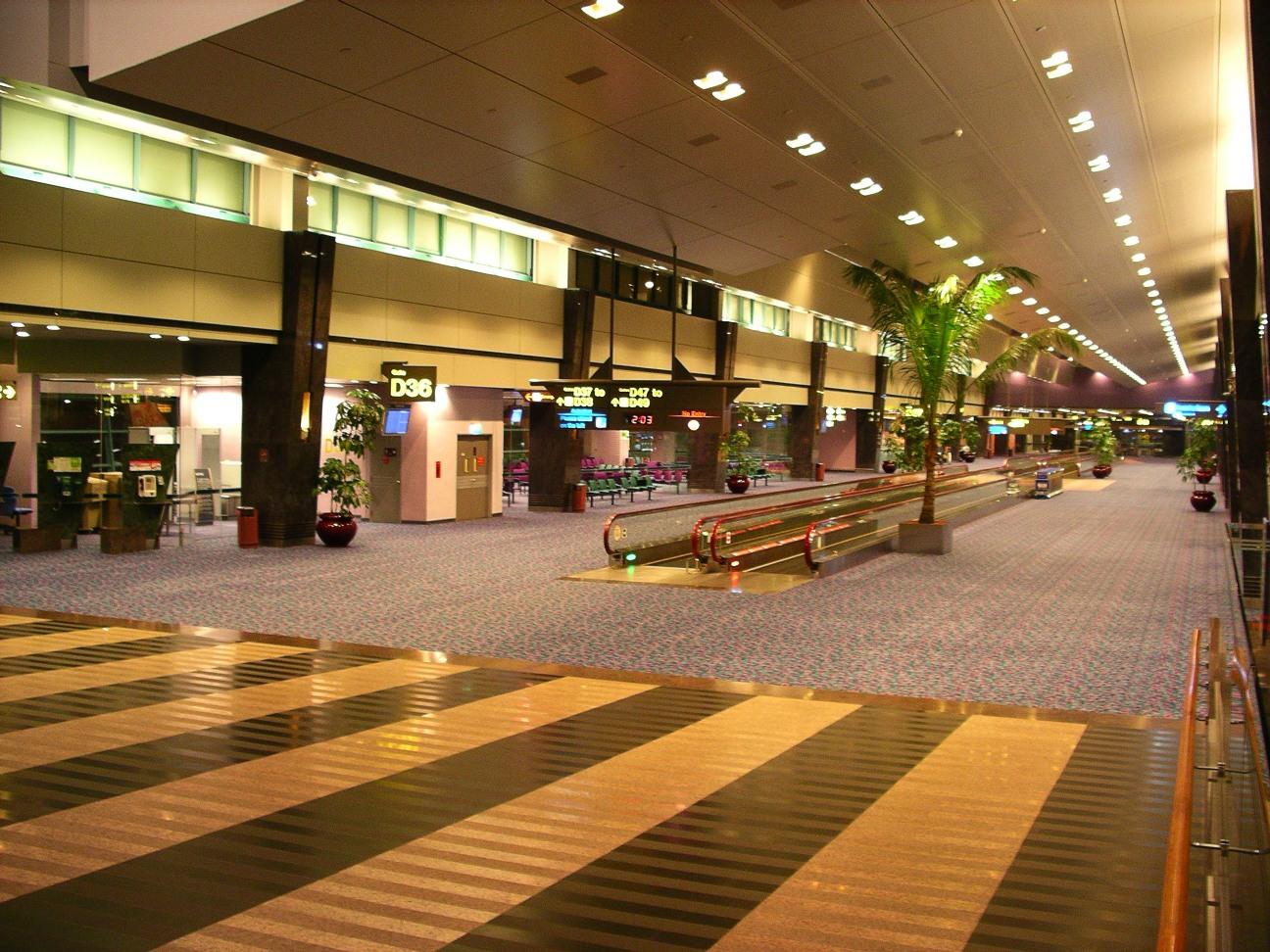 Changi Airport Food Court Terminal