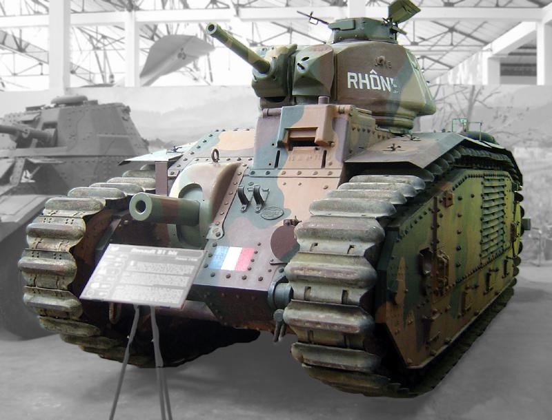 Танки №15 - Char B1 Bis, Франция, 1944 год