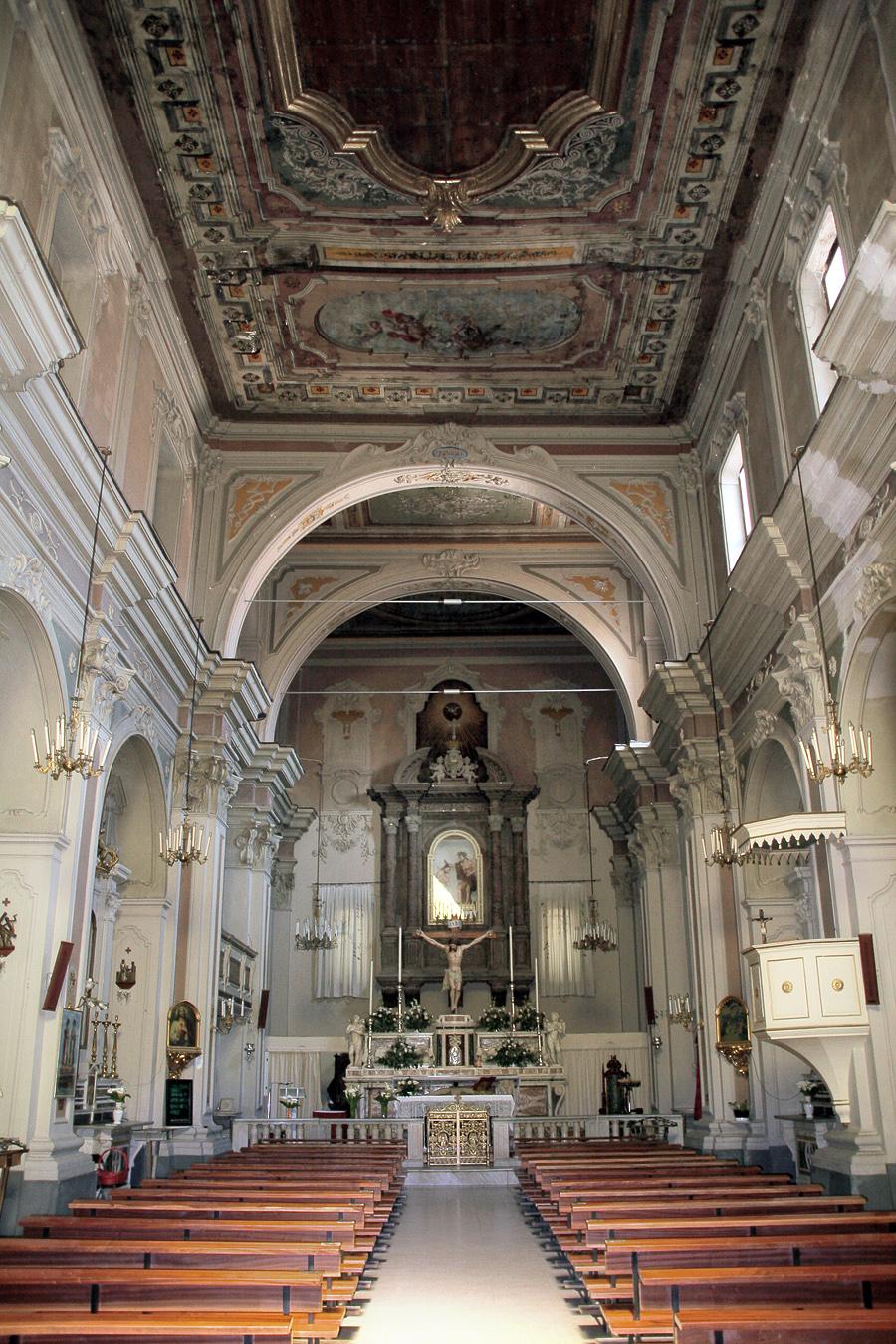 File chiesa di san giovanni battista interno san severo for Interno chiesa