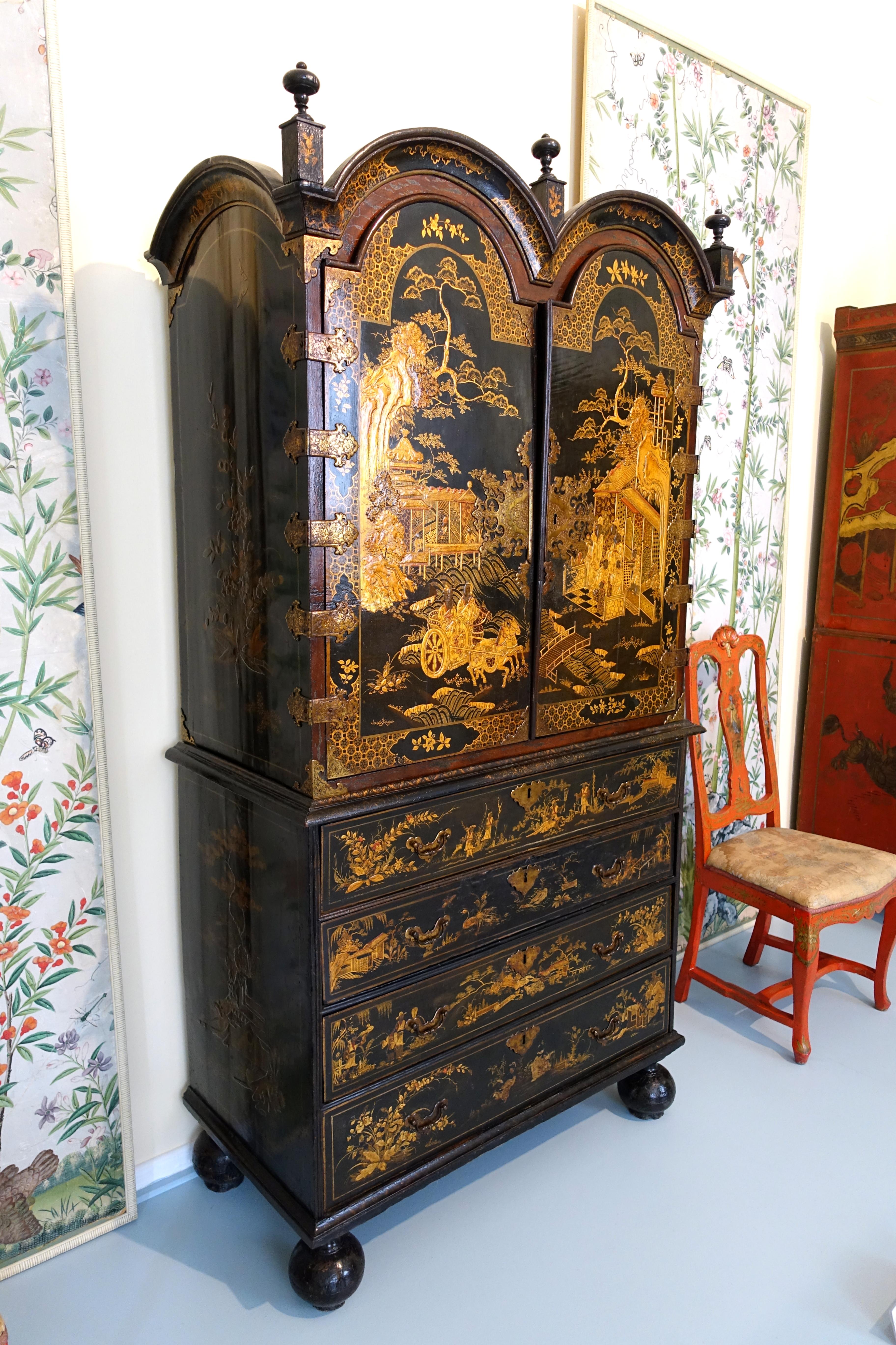 File:Chinoiserie Cabinet, View 1, Unidentified   Museo Nacional De Artes  Decorativas