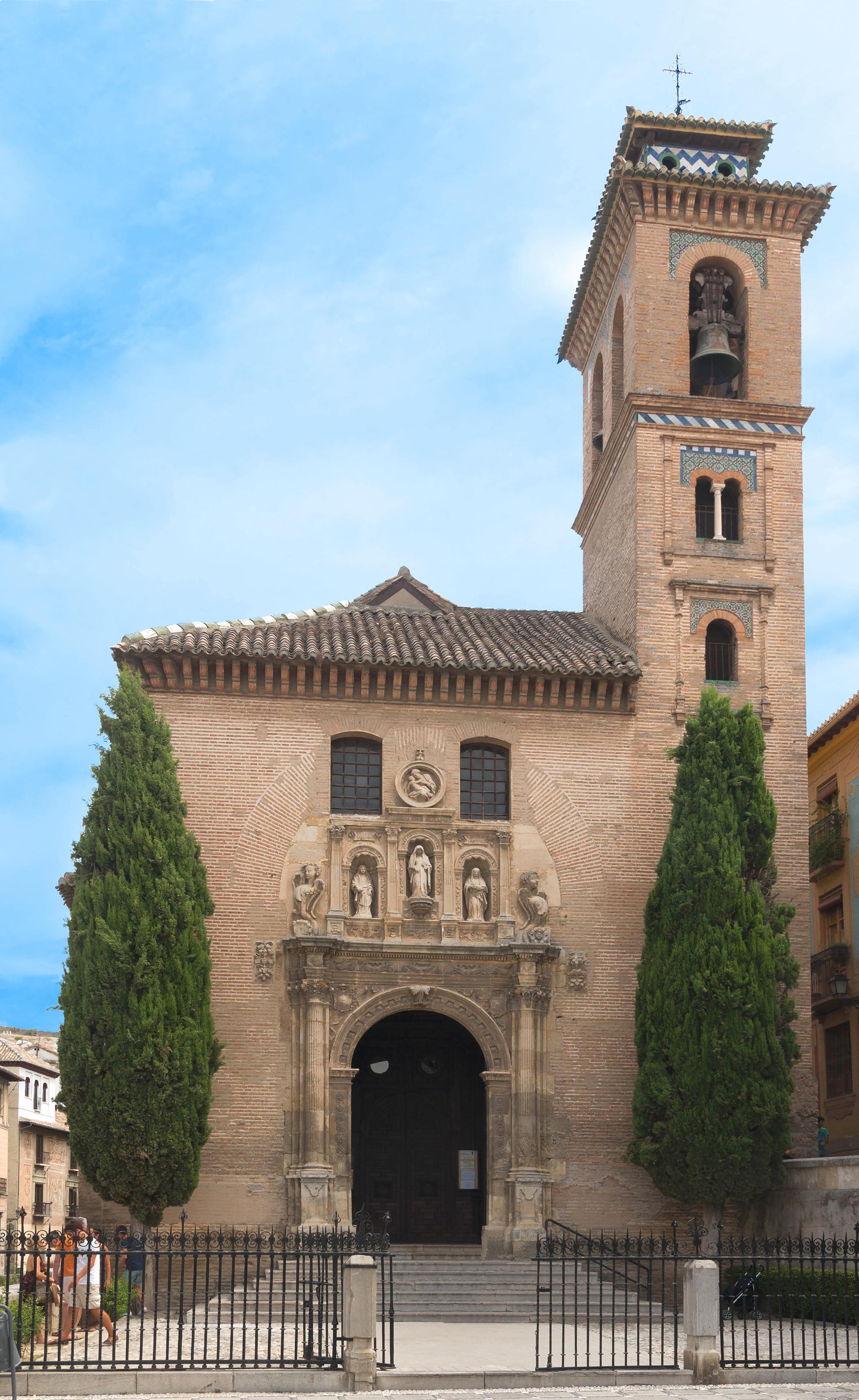 File church santa ana y san gil exterior granada - Santa ana granada ...