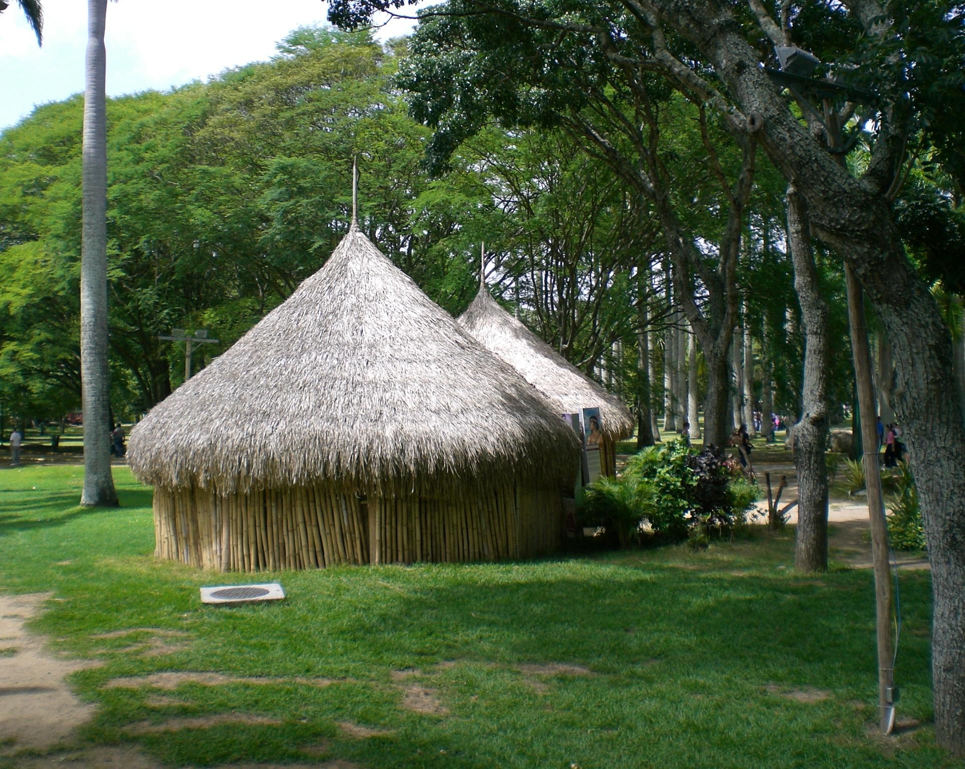 la churuatas es una de las construcciones mas elegantes y de las