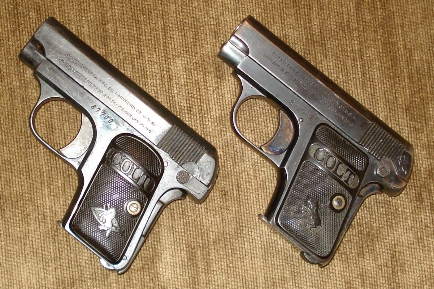 Colt Model 1908 Vest Pocket - Wikipedia