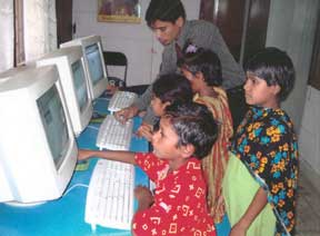Children Using Computers, Bangladesh