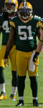 D. J. Smith - San Francisco vs Green Bay 2012.jpg