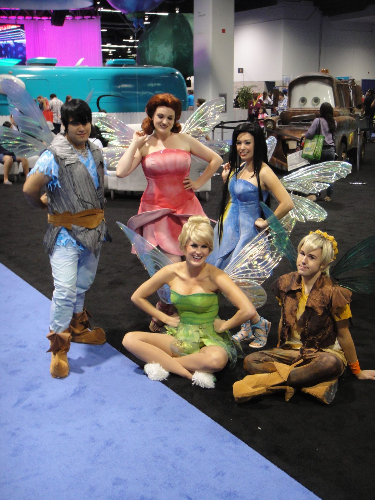 By The Conmunity - Pop Culture Geek from Los Angeles, CA, USA (D23 Expo 2011 - a bunch of fairies) [CC BY 2.0 (https://creativecommons.org/licenses/by/2.0)], via Wikimedia Commons