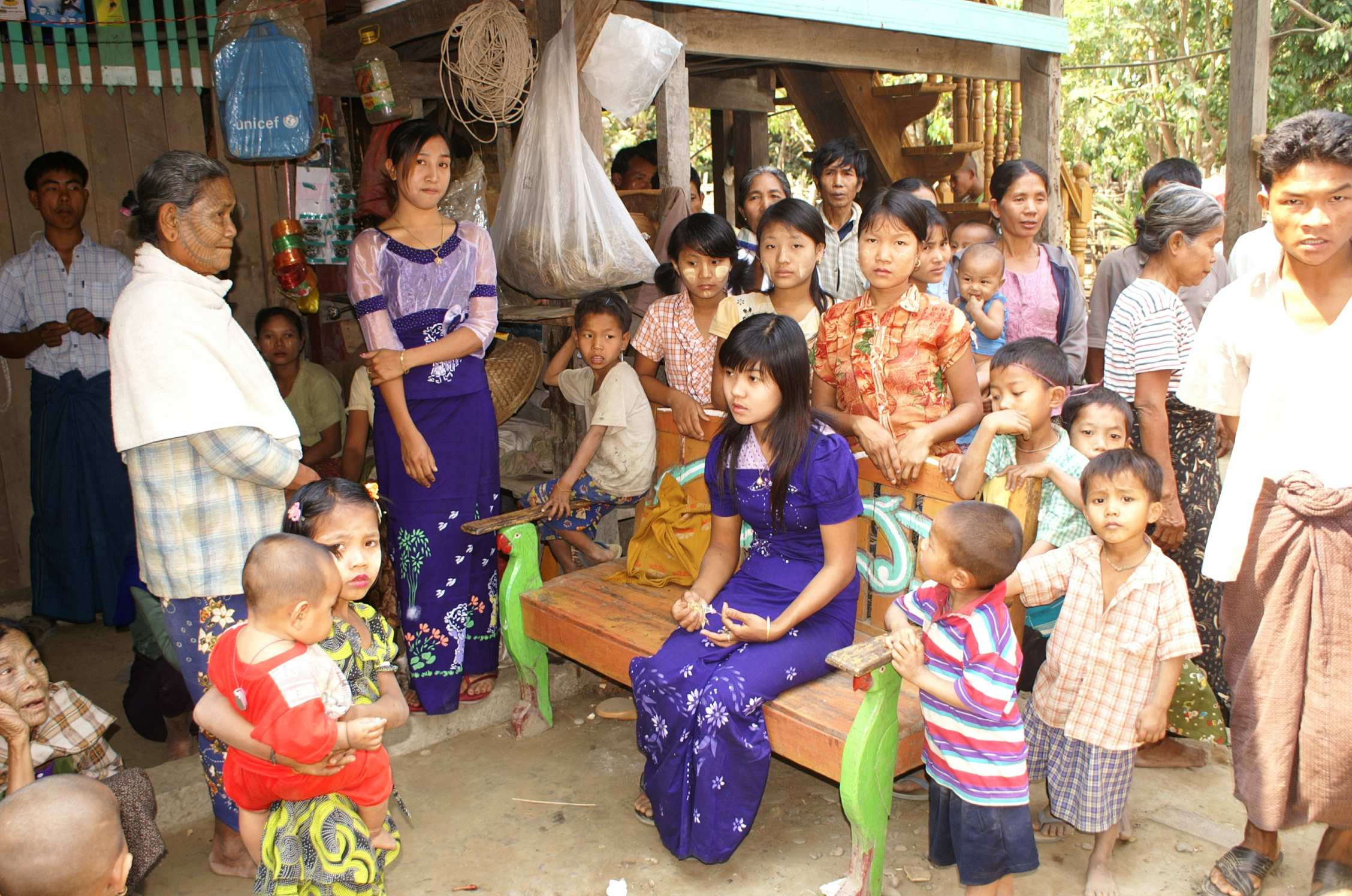 DSC0011 Burma Chin State Village and Traditional Marriage %287479944774%29 - Traditional Wedding March Piano
