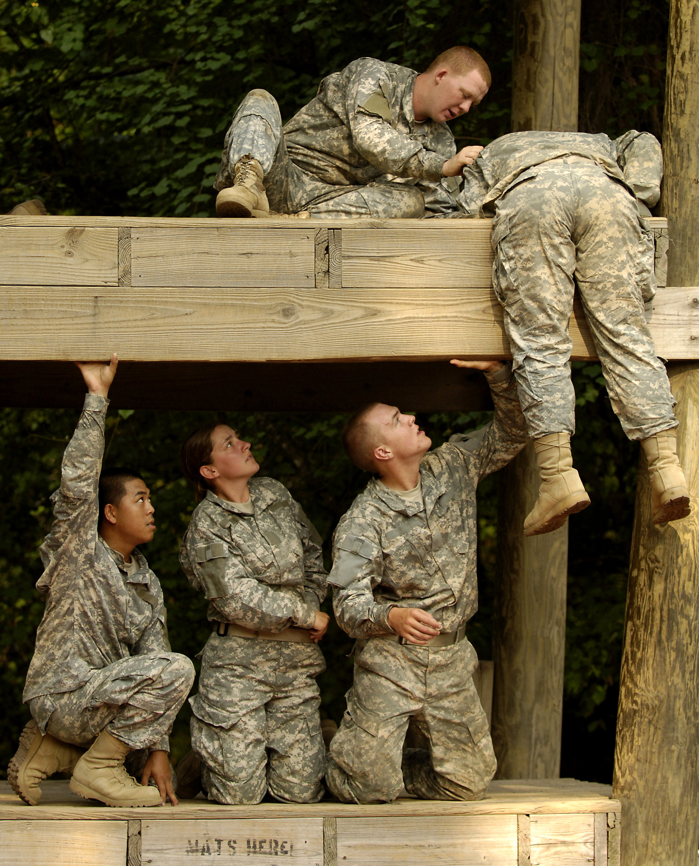 Does military fall under work? (history essay)?