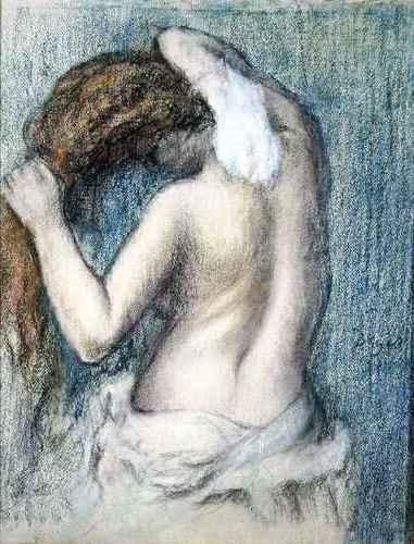 Edgar Degas - Woman Washing