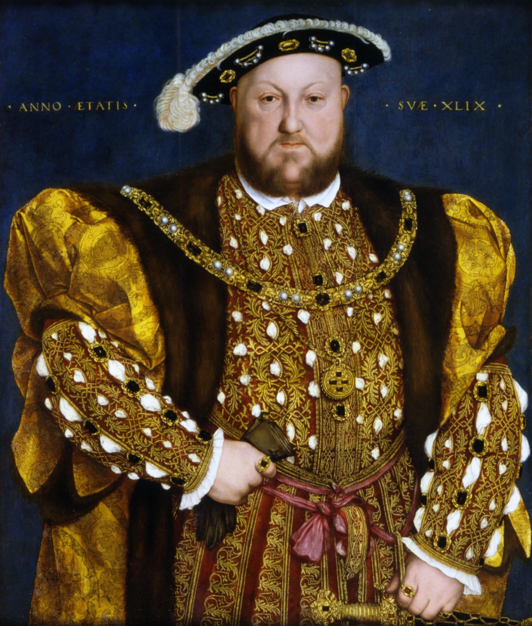 Ганс Гольбейн Младший. Генрих VIII. Изображение из Википедии
