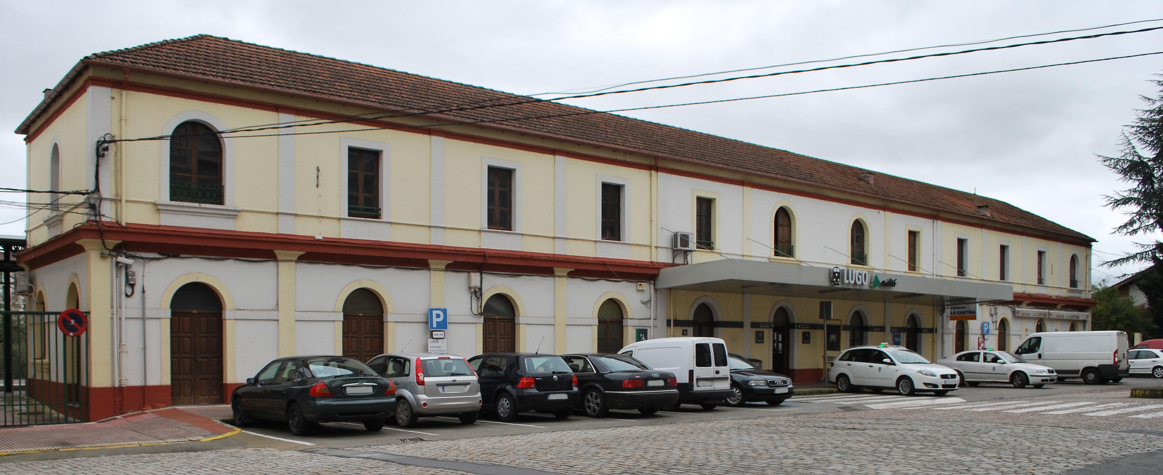 Estación de Lugo - Wikipedia, la enciclopedia libre