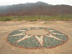 Esta antigua estrella diaguita se halla en Vinchina, La Rioja, noroeste de Argentina.