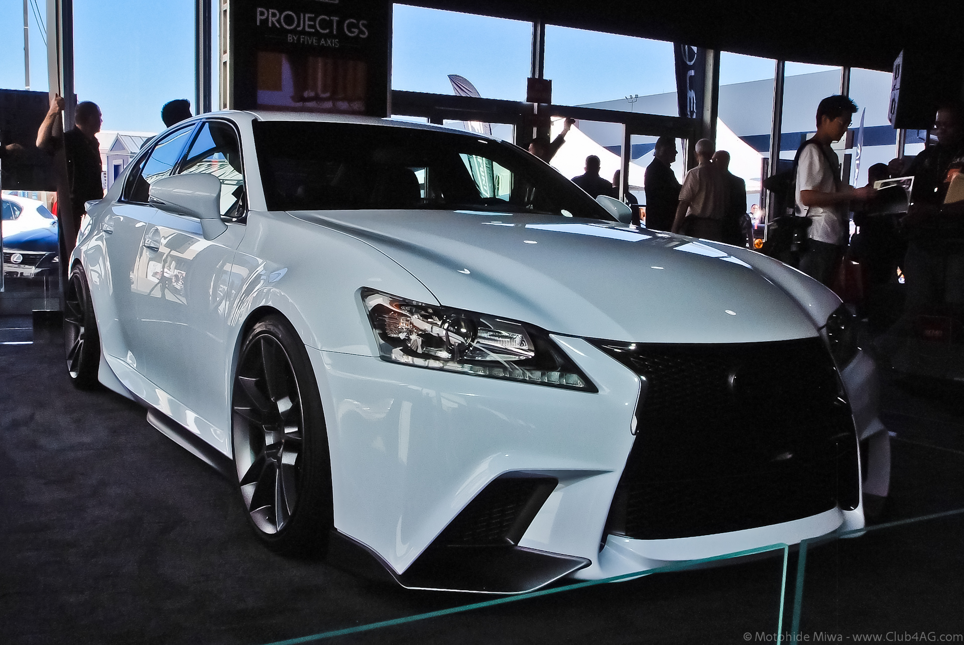 File Five Axis Lexus Gs Concept 2017 Flickr Moto Club4ag 3 Jpg