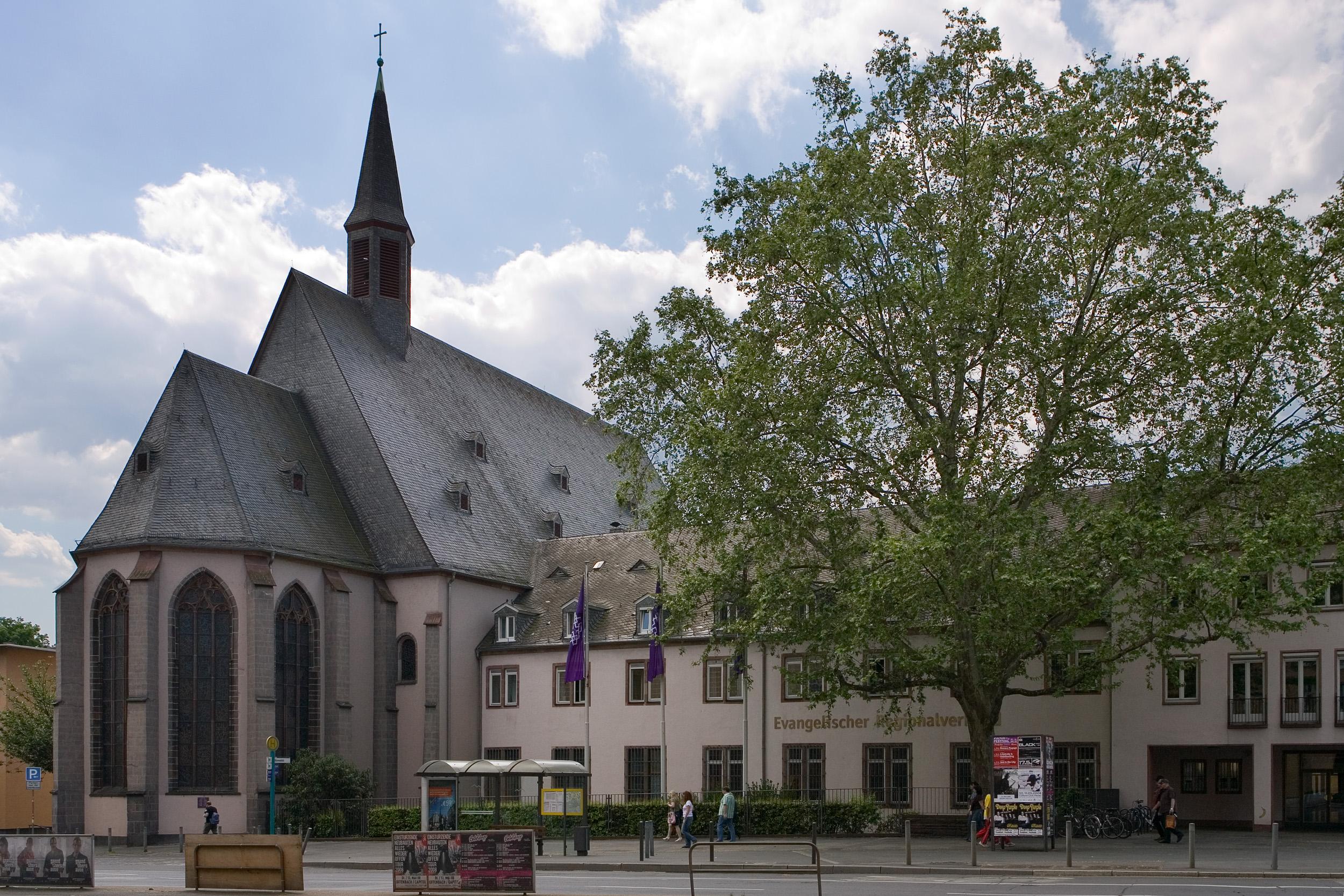 datei frankfurt am main dominikanerkloster ansicht von der. Black Bedroom Furniture Sets. Home Design Ideas