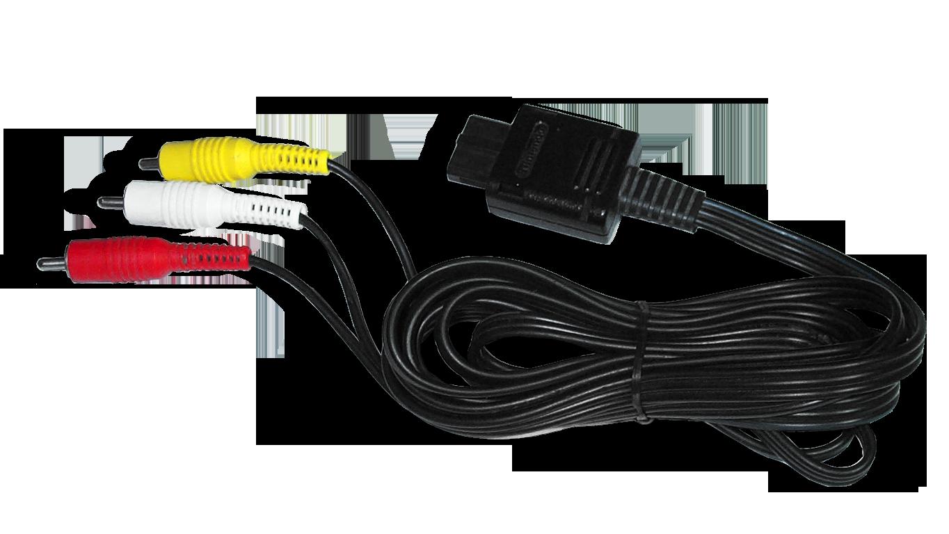 FileGameCube AV Cable