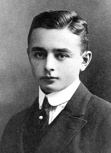 Der Dichter und Lyriker Georg Heym