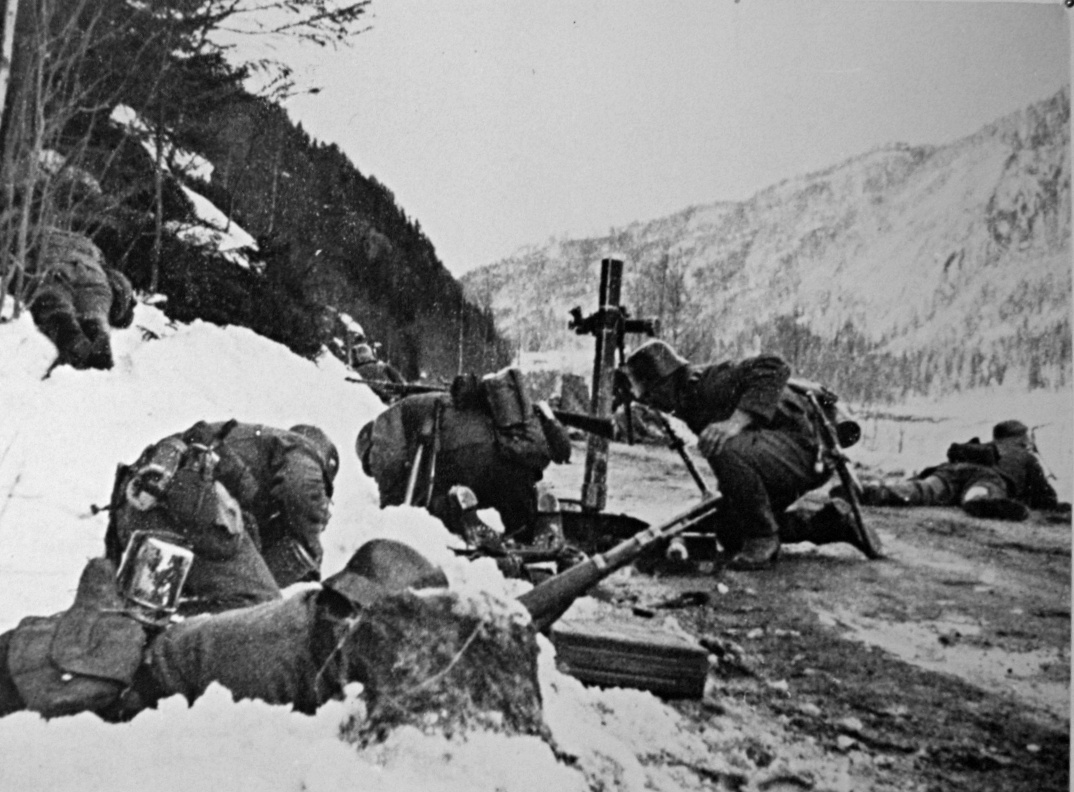 File:German forces attacking at Leiteberget.jpg ...