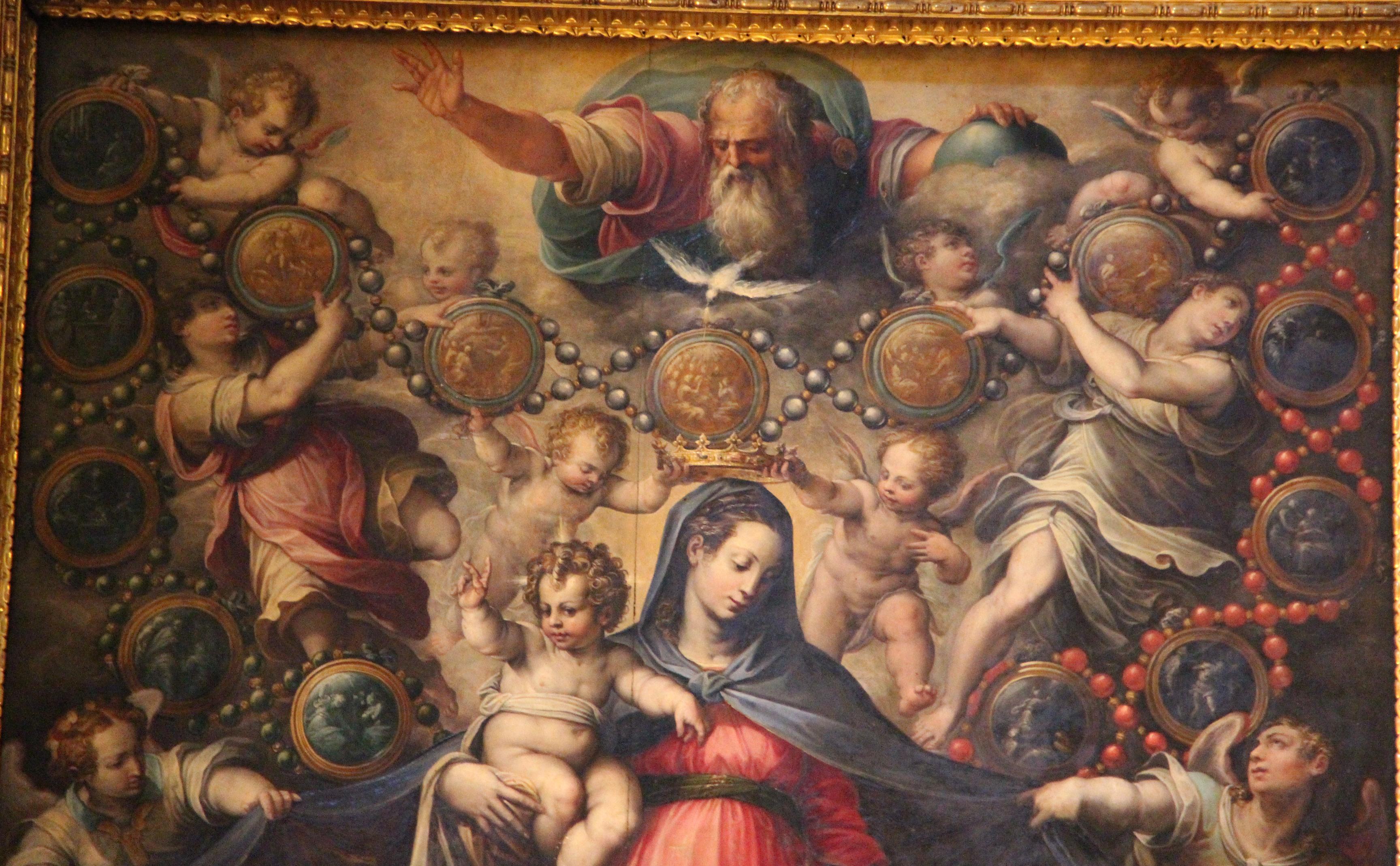 File:Giorgio vasari, madonna del rosario, 1569, 02.JPG