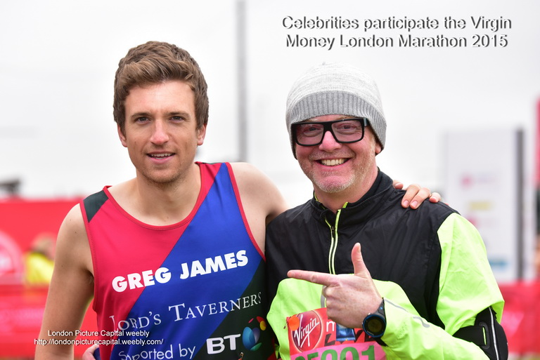 Greg James British radio and television presenter