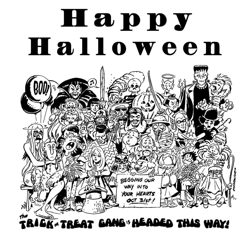 Halloween Halloween-party