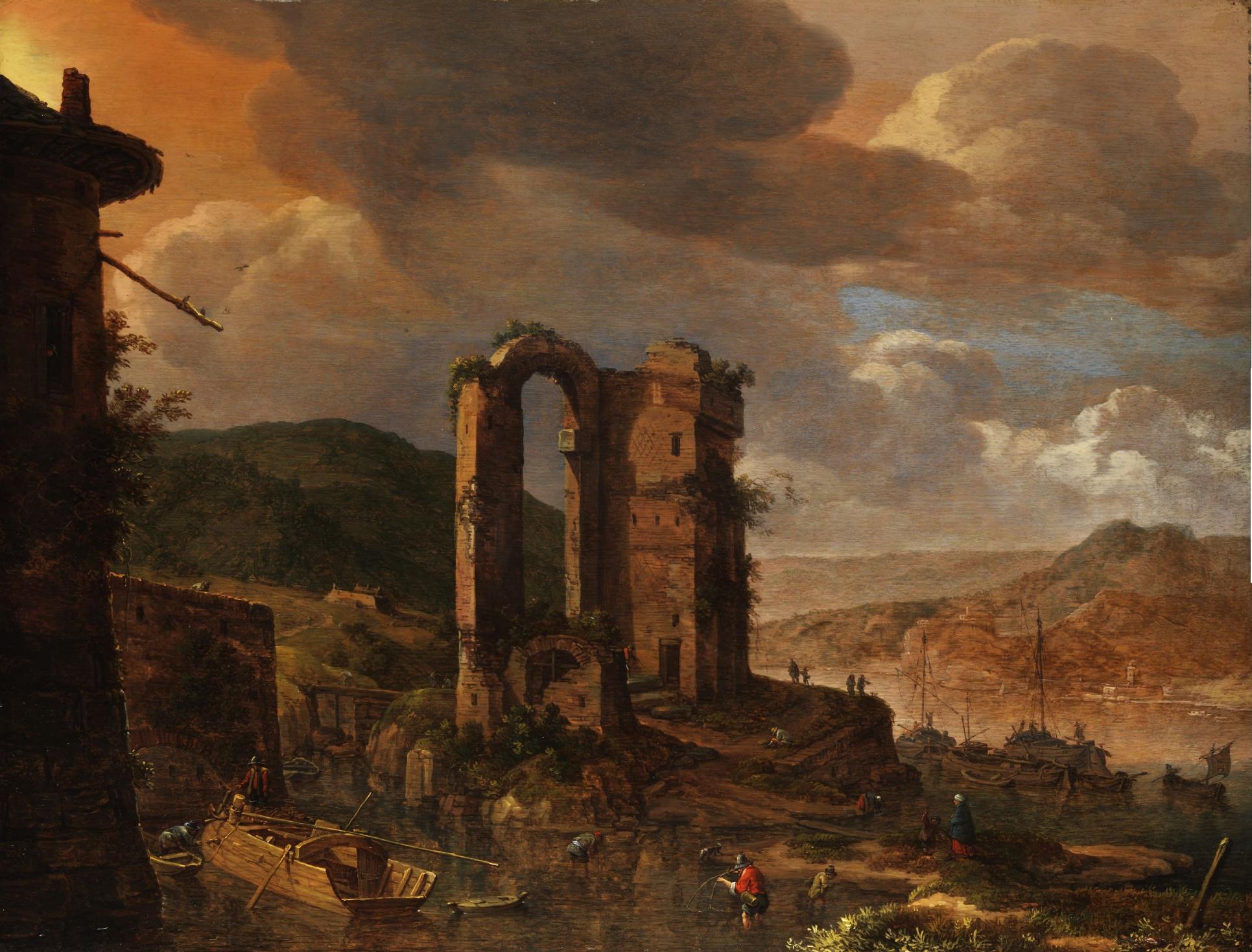 Herman Saftleven landscape