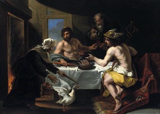 Hoecke Peasants Philemon and Baucis